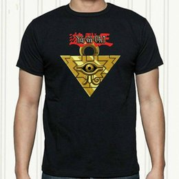 anime puzzles Australia - Yu Gi Oh Millenium Puzzle Anime Manga Cartoon Men'S Black T-Shirt