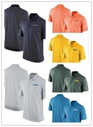 2019 T-shirt polo a vita alta primavera e estate da uomo Polo Lions Broncos Packers Team Stadium Performance in Offerta