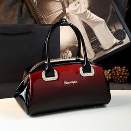 $enCountryForm.capitalKeyWord Australia - ICEV New Fashion Women Leather Handbag Patent Leather Bag Handbags Women Famous Brands Diamonds High Quality Ladies Office Totes