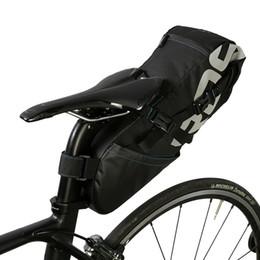 Bike Seats Red Australia - Bicycle Seatpost Extendable Bike Saddle Seat Storage MTB, Road Bicycles Black Pannier Bag 1 Main Compartment