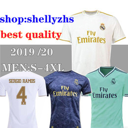 Size 11 ShortS online shopping - Large size XXL XXXL XXXXL real Madrid soccer Jersey BALE ASENSIO HAZARD sergio ramos soocer football shirts