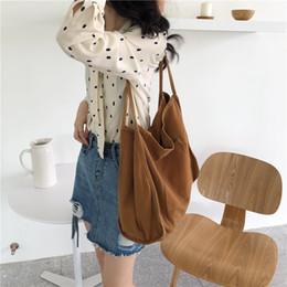 $enCountryForm.capitalKeyWord Australia - Women Casual Handbag Totes Canvas Teenage Girls School Book Shoulder Bags Large Capacity Ladies Shopping Bags