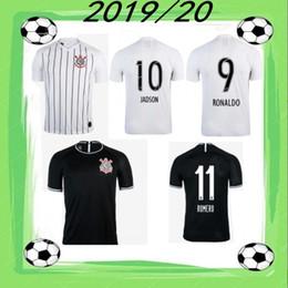 2019/20 maillot de football corinthien 2020 GUSTAVO VAGNER LOVE JADSON shirt Corinthias PEDRINHO SORNOZA M.BOSELLI Domicile Extérieur Football Uniforme en Solde