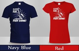 5ab1a6ad Funny Fishing T Shirts Australia - Fishing Funny Humor T-Shirt Men's Women's  Red&Navy Summer