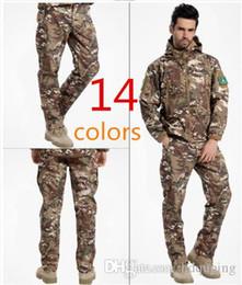 $enCountryForm.capitalKeyWord Australia - Shark Skin Softshell Outdoors Tactical Military Camouflage Pants Men Winter Army Waterproof Thermal Camo Hunt Hike Fleece Pants