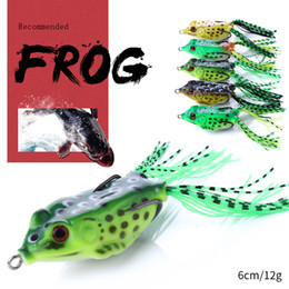 $enCountryForm.capitalKeyWord Canada - HENGJIA 200pcs new arrival Soft Frog Baits 6cm 12g fly Fishing Baits Simulation Soft Baits 5 colors Lifelike isca Artificial fishing lure