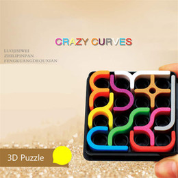 Sudoku toyS online shopping - Creative D Intelligence Puzzle Crazy Curve Sudoku Puzzle Games Geometric Line Matrix Puzzle Toys For Children Learning Toy Gift