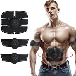 Новое прибытие электрический мышцы ABS стимулятор EMS тренер стимуляция похудения машина брюшной мышцы тренажер тренажер устройство массажер