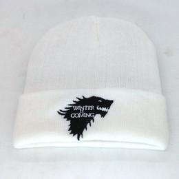 $enCountryForm.capitalKeyWord NZ - High Quality Hot Salt Wolf Power Games With Men's Znd women's Knitted Wool Caps Fashion Unisex Spring Winter Hats