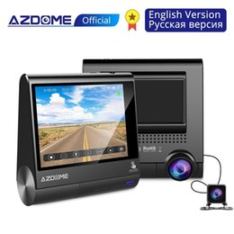 "$enCountryForm.capitalKeyWord Australia - AZDOME M05 World First 3"" OLED Touch Screen Car DVR Recorder Dashcam With GPS Vehicle Rear View Camera Night Vision Dash Cam"