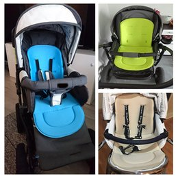 Metal car seats online shopping - Baby Stroller Pad All Seasons General Soft Pram Seat Cushion Children Car Seat Mat Kids Pushchair Cushion For