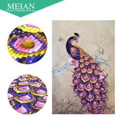 Peacock Paintings Australia - Meian,Special Shaped,Diamond Embroidery,Peacock,Forever,5D,Full,Diamond Painting,Cross Stitch,3D,Diamond Mosaic,Decoration