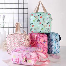 $enCountryForm.capitalKeyWord Australia - Large Capacity Storage Bag Waterproof Collapsible Wash Bag Cute Portable Printed Cosmetic Bags Cases Handing Travel Square Bags VT1572