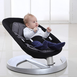 2019 Hot Sale Basic Baby Crib Baby Swing Cradle Children's Swings Cribs Cot Bassinet Double Cushion on Sale