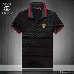 shirt italian style NZ - iduzi Italian Classic style POLO men's designers casual sports wild polo shirt trend simple printing digital design high quality cotton