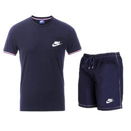 $enCountryForm.capitalKeyWord UK - Men Running Suit Short Sleeve kits Basketball Training Tracksuit Quick Dry Loose T-shirt Sports Gym Fitness Exercise Clothing