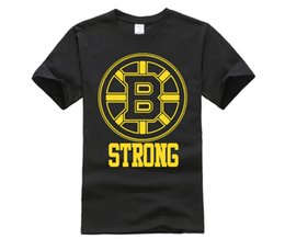2019 Famous Brand Men s Summer Tees Boston Strong Bruins Mens Tee Shirt  SHIPS FROM OHIO USA Hipster cool tops df053ce92