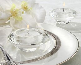 $enCountryForm.capitalKeyWord Australia - Dia.7 *3. 7cm,Crystal Candle Holder Diamond Shape For Wedding, crystal candlestick. Candle Export