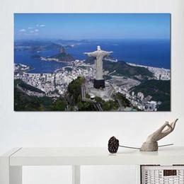 $enCountryForm.capitalKeyWord Australia - brazil rio de janeiro christ the redeemer HD Canvas Print Home decoration Art painting