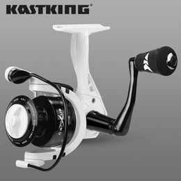 lighting coil UK - KastKing Crixus Spinning Fishing Reel 5.2:1 4.5:1 High Speed Gear Ratio Super Light Graphite Body Carp Fishing Coil