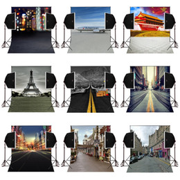 $enCountryForm.capitalKeyWord Canada - custom 5X7FT city road natural scenic vinyl photography backdrop photo background digital music studio prop comunion decoracion for party
