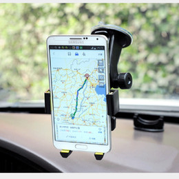 $enCountryForm.capitalKeyWord NZ - Car Phone Holder Truck Mounts Universal Bracket Windshield Mobile Phone Stands MP4 Support GPS PDA Automatic Lock 360 Rotating