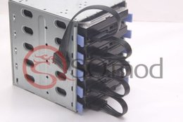 Chinese  15Pin SATA male to 1 2 3 4  5-port SATA female computer hard drive CABLE HDD cage caddy Power female Cable manufacturers
