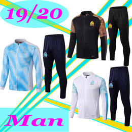 jackets tracksuits Australia - Maillots De Foot 2019 2020 Olympique De Marseille Tracksuits 19 20 Soccer Training Suit PAYET BENEDETTO OM Jacket Sets Survetement XXL