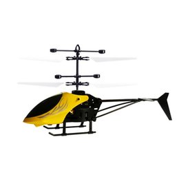 Wholesale Creative Rechargeable Glowing Helicopter Induction Aircraft USB Cable cm Years Old Toy Flight Outdoor