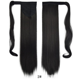 Trading Hair Australia - Europe and the United States foreign trade factory direct sales spot wholesale magic stickers horsetail straight hair no trace hai