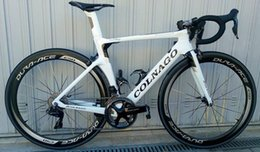 Wholesale White colnago carbon Complete bike Bicycle With Ultegra R8010 Groupset For Sale c50 Direct mount brake