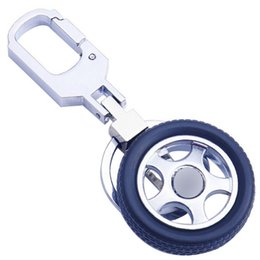 Car Tires Chains Australia - Motorcycle Motorbike Car Tyre Keychain Key Chain Tire Keyring Key Ring Keyfob Rubber Car Auto
