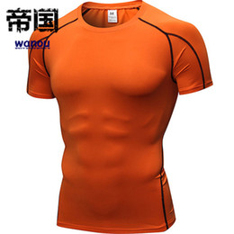 $enCountryForm.capitalKeyWord NZ - Quick Dry Compression Men Short Long Sleeve T-Shirts Running Shirt Fitness Workout Tight Tennis Soccer Jersey Gym Breathable Sportswear