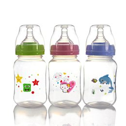 $enCountryForm.capitalKeyWord Australia - 1PCS Color random 240ml Baby Newborn Nursing Nipple Bottle Silicone Pacifier Milk Water Feeding Bottle Drop shipping