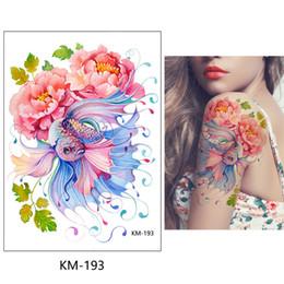 865e760ab Health&beauty Body Art Women Rose Flower Tattoo Stickers Color Red Bikini  Decoration