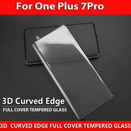 $enCountryForm.capitalKeyWord Australia - New Models 3D CURVED EDGE GLASS For One Plus 7 Pro ONE PLUS 7PRO Screen Protector HD Full Cover Tempered Glass With Best Protection