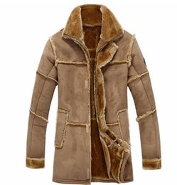 vintage fur coats Australia - Winter Warm Mens Fur Jackets and Coats Outerwear Designer Brand Vintage Mans Fur Coats Overcoats free shipping