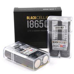 venda por atacado 100% de alta qualidade Célula preta 18650 Bateria 3100mAh IMR 3.7V 3100 40A E Cig recarregável baterias de lítio célula