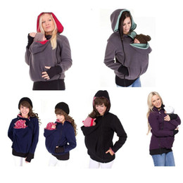23d080c7e4d High Quality Baby Carrier 2 In 1 Jacket Kangaroo Hoodie Winter Maternity  Coat Pregnant Women Thickened Pregnancy Baby Wearing