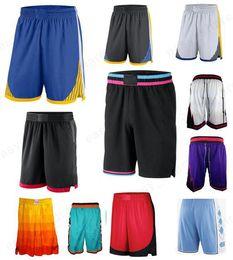Novos esportes e shorts ao ar livre desgaste Basquete leve calças respiráveis curtas esportes casuais bolas soltas calças de moletom Mens de costura em Promoção