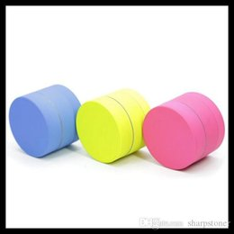 Zinc Coating Australia - New style 3 layers 1.57 inch Zinc Alloy Herb Grinder Multi Colors Coated with Silicone Metal Herb grinder