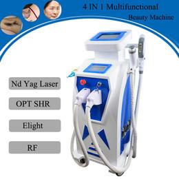 Discount tattoo removal machine best - Best price opt shr hair removal machine ipl rf skin treatment Nd Yag Laser Tattoos Equipment