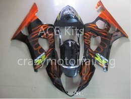 $enCountryForm.capitalKeyWord NZ - 3 gifts Fairings For K3 SUZUKI GSX-R1000 03-04 GSXR1000 GSX- GSX R1000 03 04 GSXR 1000 K3 2003 2004 Black Yellow flame S13