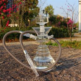 $enCountryForm.capitalKeyWord NZ - 2019 Hookah Shisha Bong Smoking Pipe Acrylic Set Glass Head Bowl Arab Stem Tools Oil Rig