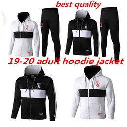 Discount polyester tracksuits - 19 20 new adult Jacket Hoodies coat BUFFON 2019 2020 DE LIGT soccer tracksuits long sleeve zipper training suit