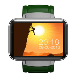 Discount dual screen windows - New gift Android DM98 2.2-inch high-definition screen MT6572A dual-core wifi 3G GPS heart rate sports smart watch bracel