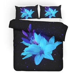 $enCountryForm.capitalKeyWord Australia - Rose Flowers Digital Printing 3D Bedding Set Duvet Covers Pillowcases Comforter Bedding Sets Bedclothes Bed Linen Bed Set