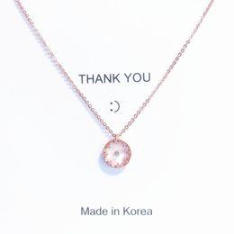 Rhinestone Glasses Chain Australia - Park Min-ying with the necklace South Korea's Dongdaemun YellowBand rhinestone clavicle chain