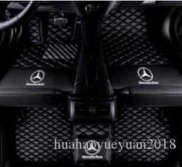 Venta al por mayor de Detalles sobre 2018 Para Mercedes-Benz 2005-2018, todos los modelos de alfombrillas impermeables personalizadas de lujo