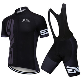 Mtb Suit Australia - New Summer DNA Cycling Jersey Bicycle Shirts bib  shorts suit Men Breathable Bike Clothing Maillot Ciclismo MTB Racing Clothes Y022101
